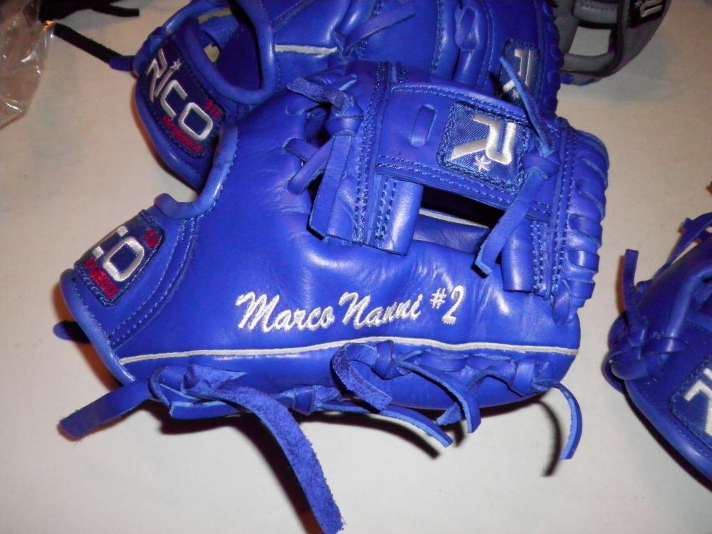 Rico Baseball Gloves : Marco nanni manager of fortitudo bologna in the italian