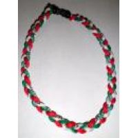 3 braid Italia or Mexico Necklace